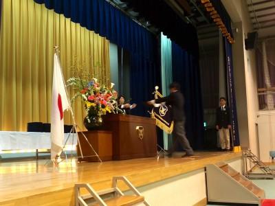 第2回附属国際中等教育学校卒業式