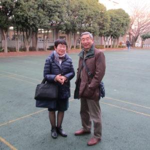 山中講師と堀江前会長