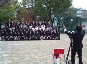 第7回附属国際中等教育学校入学式
