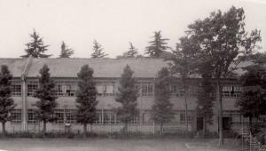 旧校舎(昭和30年頃)