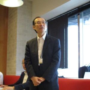 小澤先生から御言葉を頂戴しました