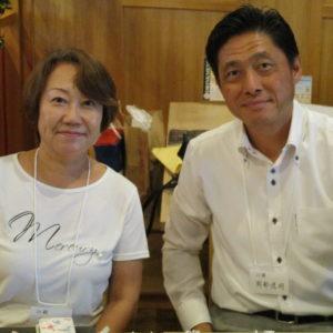 受付の茂木さん&岡部さん(共に30期)