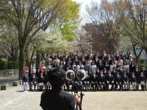 第8回 附属国際中等教育学校 入学式