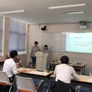 教室の形状や広さによって、プレゼンテーションの雰囲気も違ってきます。