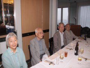 蔵方先生、近森先生、大川先生、志村先生