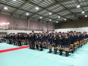 130人の卒業生