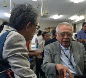 成田先生と中西先生