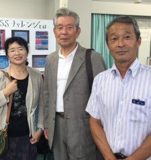 右から、板村先生・大川先生・石川先生・宮本(30期)